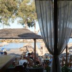 View from the Bar/Restuarant of the Beach/Sea