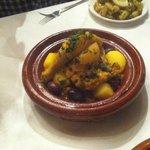 Chicken & preserved lemon tajine