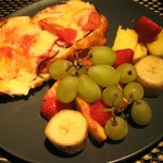 Croque-monsieur & fruits
