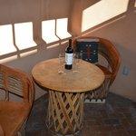 Private sunroom Gallisteo
