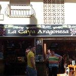 Tapas bar in old yown