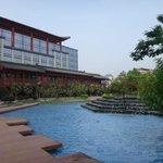 Hotel ground
