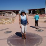 Standing on 4 states!