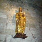 Eglise  Notre Dame: statua di Saint Louis