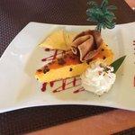 Mousse passion crème chantilly