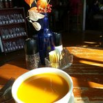 Fabulous & loverly squash soup! Perfection on a cool fall day!!