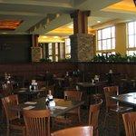 Dining area, Cedar Plank Buffet