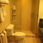 large bathroom, very nice size.