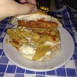 Ruspante : patatine pollo croccante mozzarella
