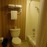 Seperate Tub/Toilet area of Bathroom
