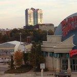 View of Seneca Casino from room