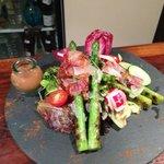 Salade d asperges