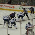 The game -- Colorado Avalanche vs. Winnipeg Jets