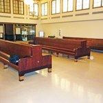 Original waiting room benches