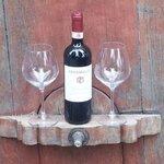 Our first bottle of Vignamaggio Chianti!