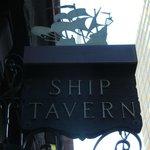 Ship Tavern's shingle