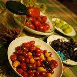 Freshly picked produce