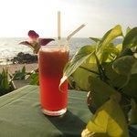 Leckerer Cocktail am Strand