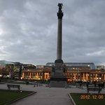 広くて素敵な広場ですね・・・