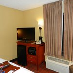 TV, Fridge and Microwave