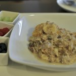 Bircher Muesli room service breakfast