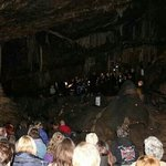 Bel Canto Choir Mitchelstown in concert at the caves during 2013