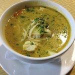 Fish soup. Delicious!