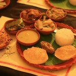 traditional lunch Thali