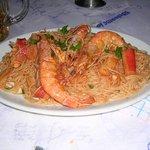 Maria's delicious seafood pasta!