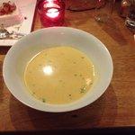 vellutata all'aglio