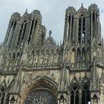 Gros Plan sur les Flêches Notre Dame de Reims