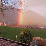 Espectacular arco iris al levantarme.