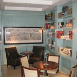 Sala de desayuno y de lectura