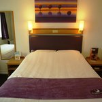 Premier Inn Guildford Central hotel room