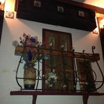Decoration in the cellar room of Casa Argentina