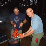 LobsterFest at our Campsite