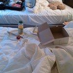pti dej sur le lit
