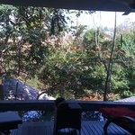 vue de la villa Tjinglar