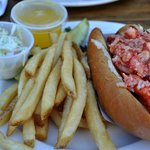 the naked lobster roll