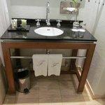 Bathroom includes H2O amenities