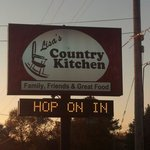 Lisa's country kitchen it was great!!