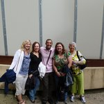 After the Uffizi tour with Paul
