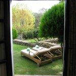 Jardin de la habitacion