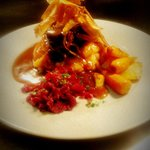 Chefs Special- Braised short rib of beef, beetroot mash, seasonal vegetables finnished with pars