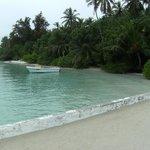 spiaggia vicino al pontile
