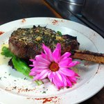 Finelli's oven roasted Veal Chop!!