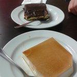 tarta de la abuela y tarta de queso