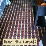 Brand new carpets!