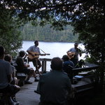 "The AIC offers various public programs such as ""Music in the Woods"" in July 2013"