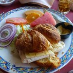 Turkey, Avocado & Swiss Croissant